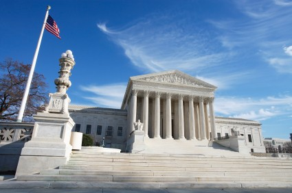 United States Supreme Court Building and American Fl