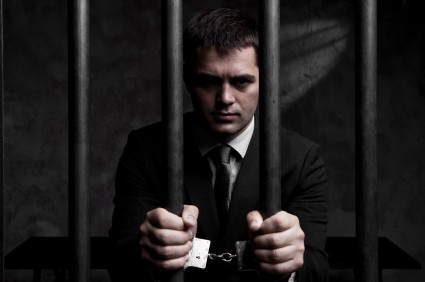 Business Man Jail Prison