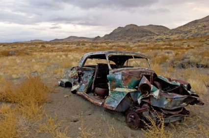 California Desert Car