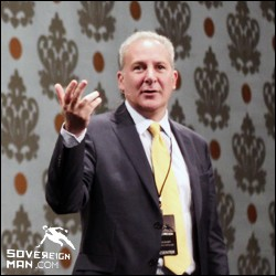 Peter Schiff at Offshore Tactics Workshop