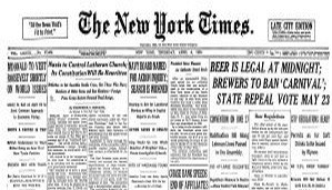 NYT front page What gold nationalization really means