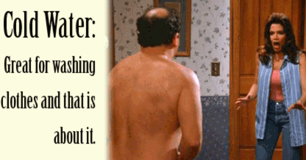 george costanza shrinkage Shrinkage: Kiev doubles the price of cold water, shuts off hot water