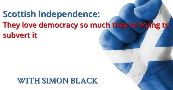 Podcast 019 Cover 019: Scottish independence: they love democracy so much theyre trying to subvert it