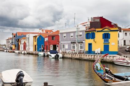Aveiro Portugal Houses
