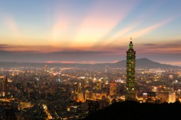 taipei sunset